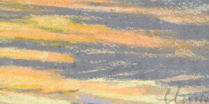Claude Monet | Coucher de soleil sur la mer