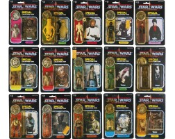 39. fifteen star wars 'last seventeen' power of the force '92-back' action figure, 1985