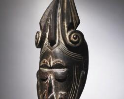 8. ligbi maiden spirit mask,côte d'ivoire
