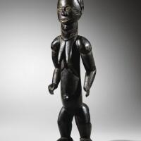 45. statue, bété, côte d'ivoire |