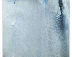 120. olivier debré | bleu gris de bavière