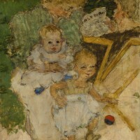 139. pierre bonnard | les mamans (la famille cottet)