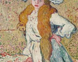 171. louis valtat   portrait de madame valtat
