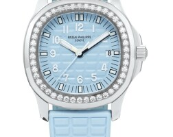 39. patek philippe | aquanaut luce, reference 5067 a stainless steel and diamond-set wristwatch with date, circa 2010