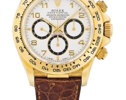212. 勞力士(rolex) | 16518型號「'zenith' daytona」黃金計時腕錶,年份約1991。