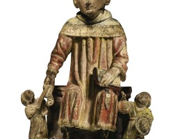 108. french, burgundy, circa 1450 | saint yves with the rich and the poor