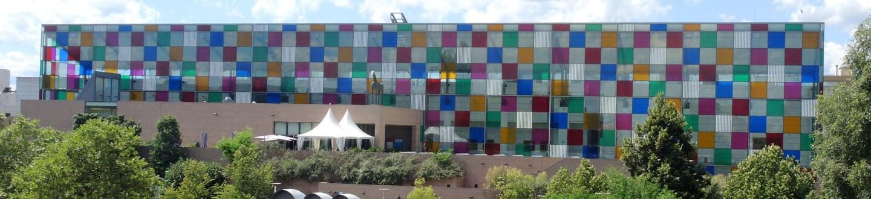 Exterior view of the Musée d'Art Moderne et Contemporain in Strasbourg.