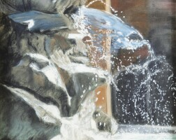 20. victor edelsteinborn in 1946 | view of the dolphin fountain, pantheon square, rome
