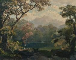 1. robert zünd | rotsee mit blick auf pilatus
