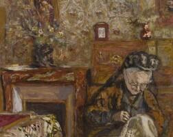 12. 愛德華・維亞爾 | 《在縫紉的維亞爾夫人》