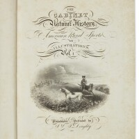26. doughty, john, & thomas doughty. 'the cabinet of natural history and american rural sports'. philadelphia:published by j. doughty, 1830, 1832, 1833
