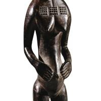 248. statue, baulé, côte d'ivoire  