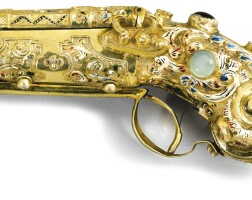 722. a jewelled silver-gilt and enamel novelty box, austro-hungarian, late 19th century