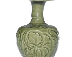 5. an exquisite and rare carved 'yaozhou' kundika northern song dynasty