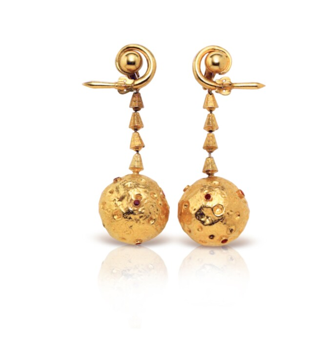 The Earrings Made Famous by Jacqueline Kennedy Onassis