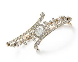 19. diamond bangle, circa 1900