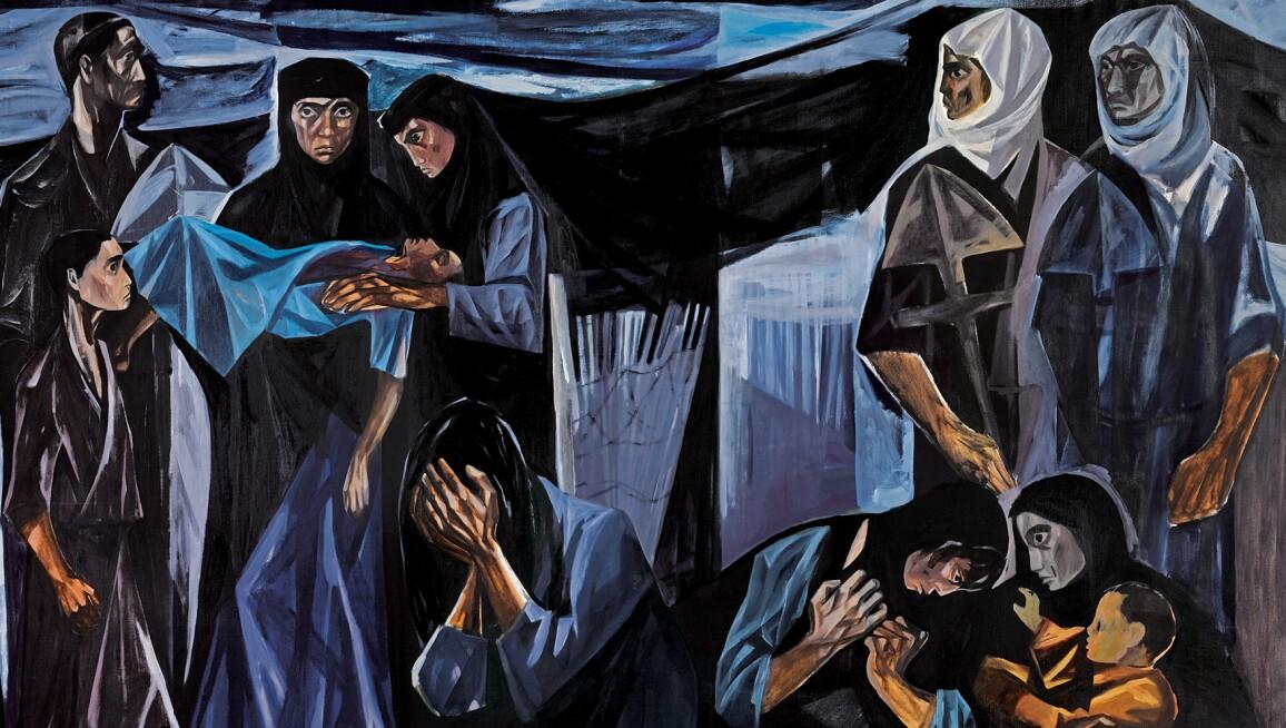 Mahmoud Sabri, Al Mawt Al-Tafl (The Death of a Child), 1963