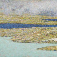 11. emilio longoni | white lake and black lake, bernina pass
