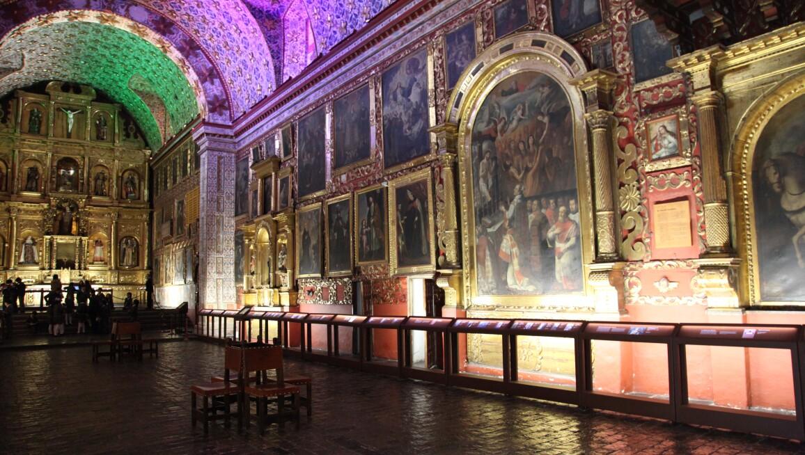 Interior View, Museo Santa Clara