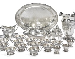 14. a group of american silverflorenz pattern table articles, gorham mfg. co., providence, ri, 1927 |