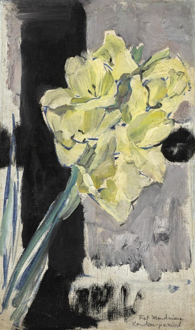 Piet Mondrian, Gladiolus, circa 1930s