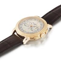 207. 百達翡麗(patek philippe)   5070型號粉紅金計時腕錶,2007年製。