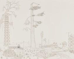175. aaron spangler (b. 1971) | old dead trees, 2004