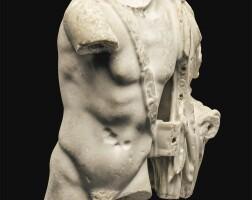26. a roman marble torso of achilles, circa 2nd century a.d   a roman marble torso of achilles
