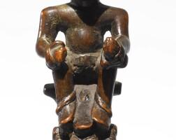 159. kongo-vili whistle charm, democratic republic of the congo