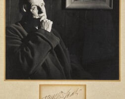 42. jack b. yeats, r.h.a.   photograph of the artist