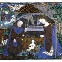1. master monvaerni (1461-1485)the nativitylimoges,circa 1475, |