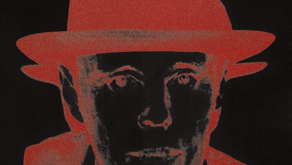 Andy Warhol, Joseph Beuys (Diamond Dust), 1980.