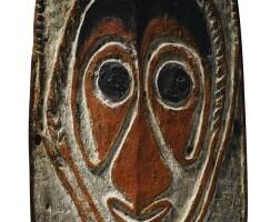 18. planche votive tihi ébiha, îles de goaribari, golfe de papouasie, papouasie-nouvelle-guinée