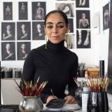 Shirin Neshat in her studio