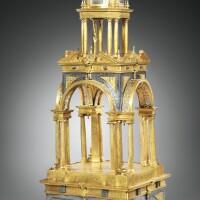 3. temple (corpus christi) en bronze doré et argent, espagne, vers 1600