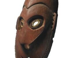 160. lower sepik river mask, papua new guinea
