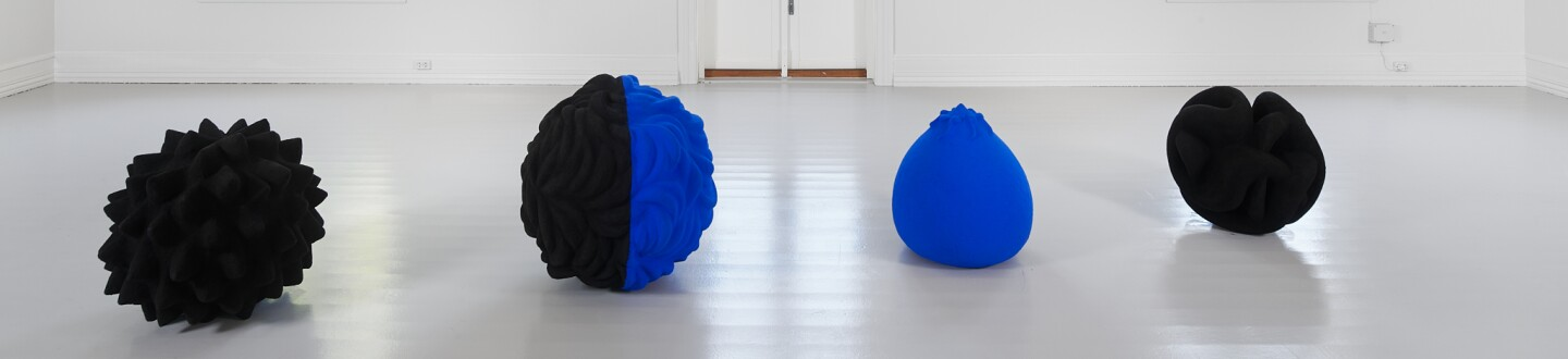 Anish Kapoor's The Chant of Blue (1983) at Galleri F 15
