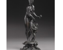 145. an italian bronze allegorical group of charity, attributed to danese cattaneo (ca.1509-1572)