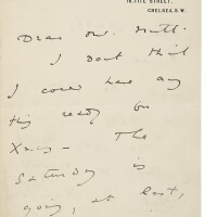 311. wilde, oscar. autograph letter signed to publisher alfred nutt, c.1888
