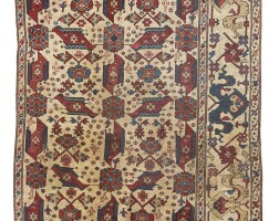 1. a selendi 'bird' carpet fragment, oushak region, west anatolia |