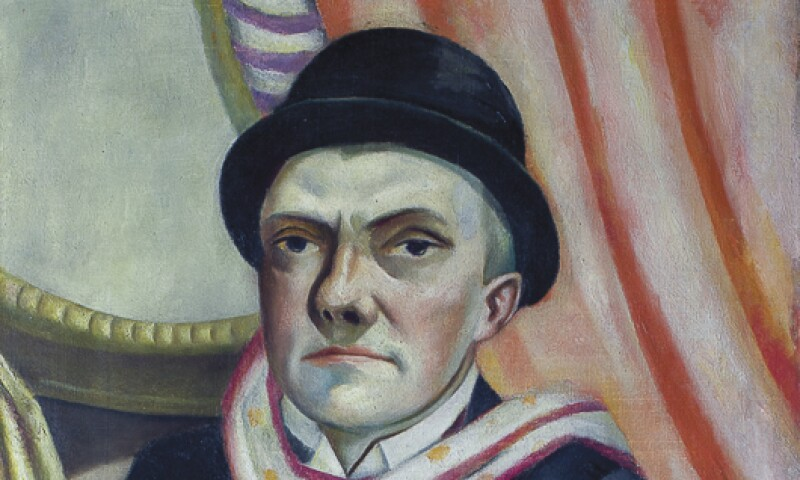 Beckmann Self Portrait