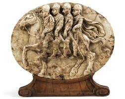 3. netherlandish, early 17th centuryaymon's four sons on their horse bayard, |