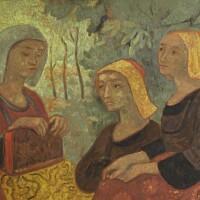 169. paul sérusier   bretonnes au livre