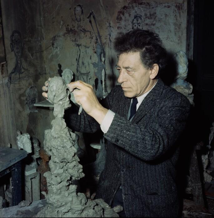 Giacometti at Work