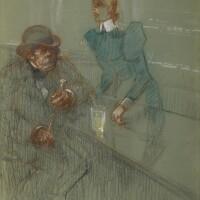 149. henri de toulouse-lautrec | bar-maid