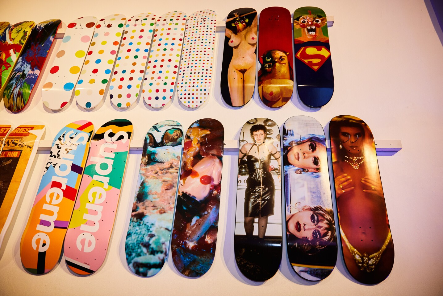 154ac712 Celebrating the Supreme Skateboard Collection Downtown | Events | Sotheby's