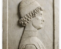 9. italian, veneto or lombardy, probably last quarter 15th century, | right profile of a young man