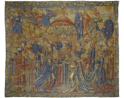 9. an early renaissance classical narrative tapestry, southern netherlands, probably brussels, first quarter 16th century