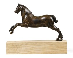 37. workshop of barthélemy prieur (circa 1536-1611), french, 17th century, | leaping horse