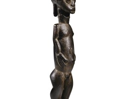 21. statue, baulé, côte d'ivoire |